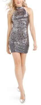 GUESS Merlyn Iridescent Sequined Dress
