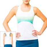 LIJA Groove Printed Racerback Tennis Tank - Women's
