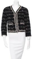 Chanel Wool & Cashmere-Blend Bouclé Jacket