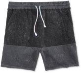 Neff Men's Bummin Plush Colorblocked Sweat Shorts