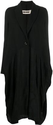 UMA WANG Drape Detail Coat