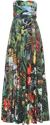 Dolce & Gabbana Printed cotton maxi dress