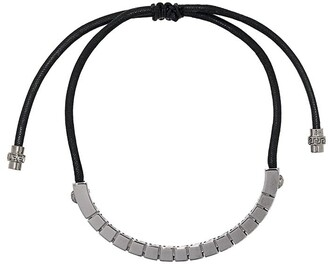 Versace Greca drawstring bracelet