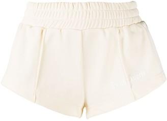 Palm Angels elasticated-waistband short-shorts
