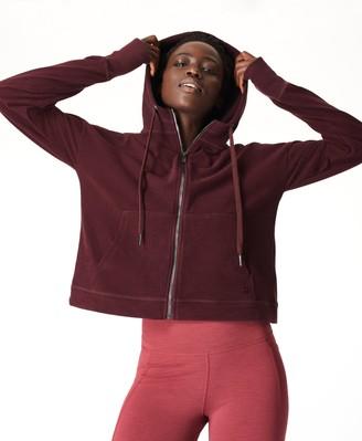 Sweaty Betty Sanctuary Luxe Fleece Zip Through Hoodie