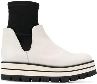 Paloma Barceló slip-on sock boots