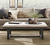 Pottery Barn Griffin Hair on Hide Bench
