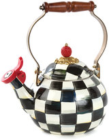 Mackenzie Childs MacKenzie-Childs - Courtly Check Enamel Whistling Tea Kettle