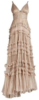 Maria Lucia Hohan Dalila Tiered Gown