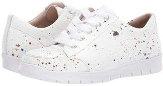 Finn Comfort Swansea (White/Speckled) Women's Lace up casual Shoes
