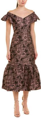 Rebecca Taylor Floral Sheath Dress