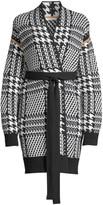 Max Mara Malizia Long Belted Wool & Cashmere Cardigan
