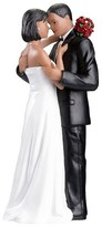 Lillian Rose African American Couple Wedding Cake Topper