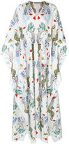 Mary Katrantzou deck of cards maxi dress - women - Silk/Cotton - S
