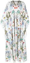 Mary Katrantzou deck of cards maxi dress - women - Silk/Cotton - XS