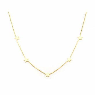 Tai Gold 5 Star Necklace
