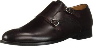 Marc Joseph New York Men's Leather Double Monk Wingtip Dress Shoe Oxford