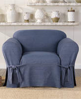 Sure Fit Authentic Denim One Piece Chair Slipcover Bedding