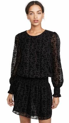Parker Women's Long Sleeve Elastic Waist Dress
