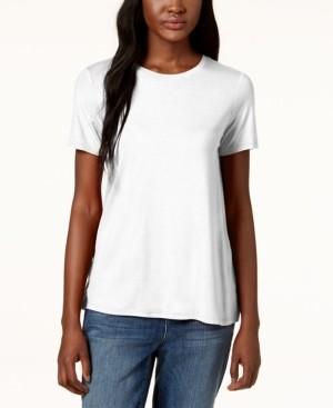 Eileen Fisher System Stretch Jersey Short-Sleeve T-Shirt, Regular & Petite