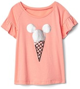 Gap babyGap | Disney Baby Mickey Mouse and Minnie Mouse flutter tee