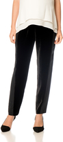 A Pea in the Pod Under Belly Sateen Slim Leg Maternity Pants