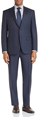 Canali Siena Textured-Weave Classic Fit Suit