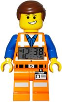 Lego Movie Emmet Minifigure Alarm Clock