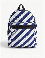 Kenzo Striped Nylon Backpack