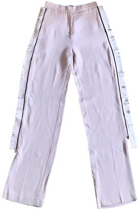 Avelon Pink Trousers for Women