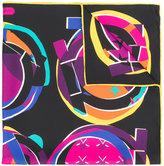 Salvatore Ferragamo novelty print scarf
