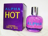 Alpha Purple Hot by for Women - 3.4 oz EDP Spray by