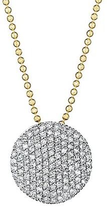 Phillips House 14K Yellow Gold & Diamond Infinity Necklace