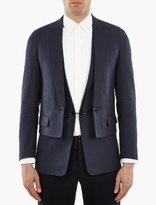 Maison Margiela Navy Jacket And Waistcoat