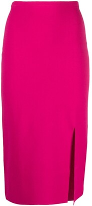 Diane von Furstenberg Split-Hem Pencil Skirt