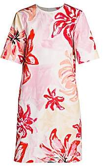 Marni Women's Floral Shift Dress