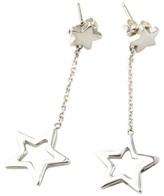 Tiffany & Co. 925 Sterling Silver Star Drop Earrings