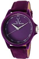 Toy Watch ToyWatch Women's PE06VL Sartorial Only Time Velvet Watch