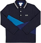 HUGO BOSS STRETCH-COTTON POLO SHIRT