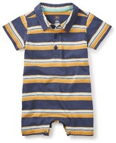 Tea Collection Infant Boy's Kings Cross Polo Romper