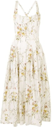 Brock Collection Riana floral-print dress