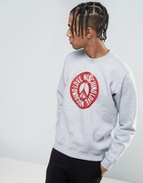 Love Moschino Peace Logo Sweater