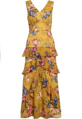 Chelsea28 Floral Tiered Maxi Dress