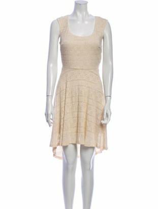 Needle & Thread Lace Pattern Knee-Length Dress