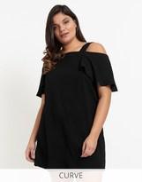 Glamorous Curve Off The Shoulder Dress