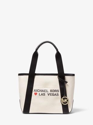 MICHAEL Michael Kors The Michael Small Canvas Las Vegas Tote Bag