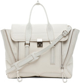 3.1 phillip lim Shark Embossed Pashli in White