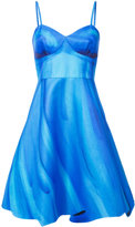 Moschino trompe l'oeil bustier dress - women - Silk/Cotton/Viscose - 40