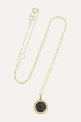 Ippolita Lollipop 18-karat Gold Onyx And Diamond Necklace