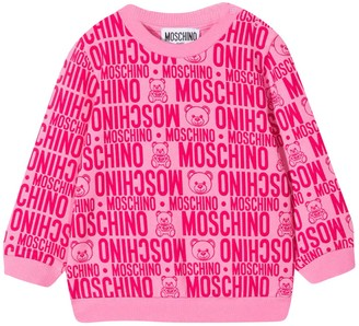 Moschino Pink Sweater